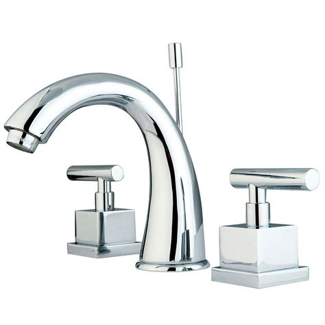 square bathroom faucets modern square 8 in widespread 2 handle high arc bathroom