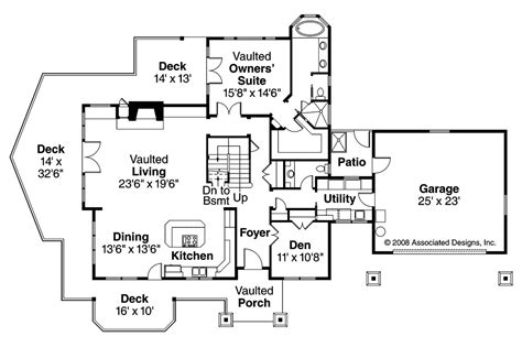 floor plans for my house craftsman house plans stratford 30 615 associated designs