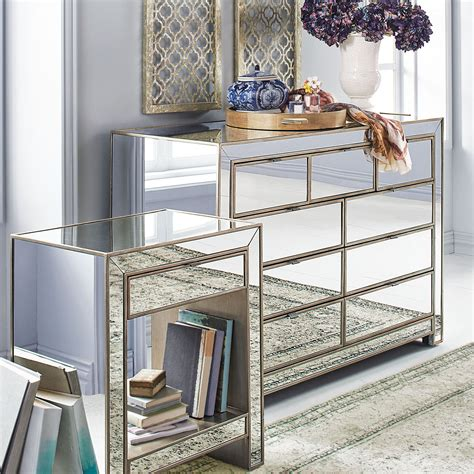 how to decorate mirrored dresser dresser furniture