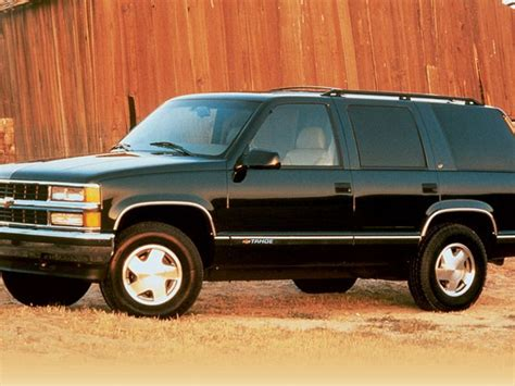 old car owners manuals 1998 gmc yukon seat position control 1995 1999 chevrolet tahoe gmc yukon pre owned truck trend