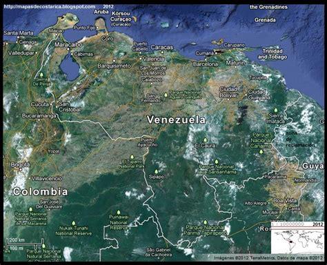 imagenes satelital de venezuela venezuela vista satelital de google maps