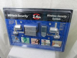 nortech security 2.4ghz wireless color security system on
