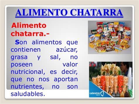 alimentos saludables  alimentos chatarras profesora ana elizabet