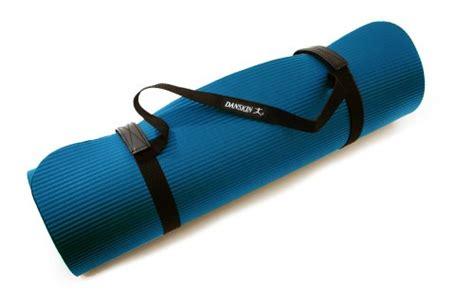 Danskin Mat by Danskin Deluxe Fitness Mat Blue