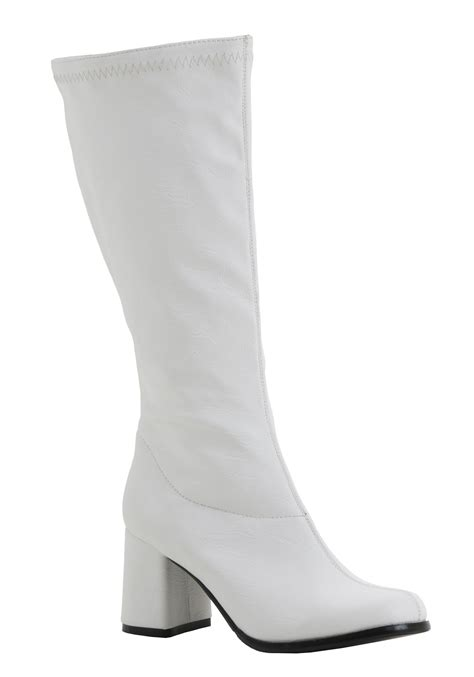 gogo boots deluxe faux leather gogo boots