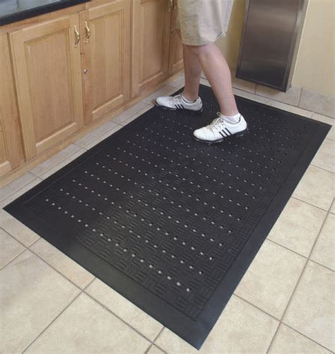 rubber kitchen floor mats comfort drainage kitchen mats are rubber kitchen mats by american floor mats