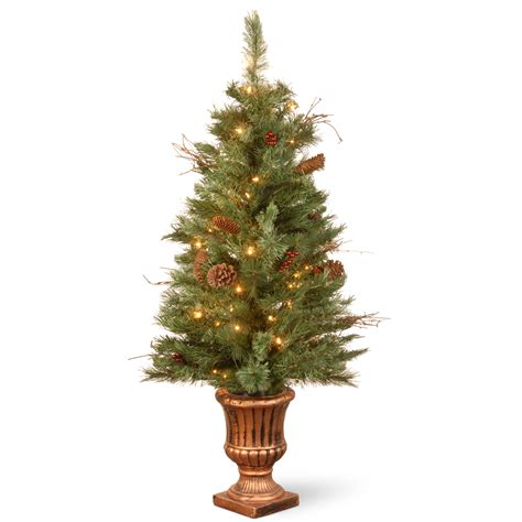 pre lit outdoor trees pre lit outdoor tree sears