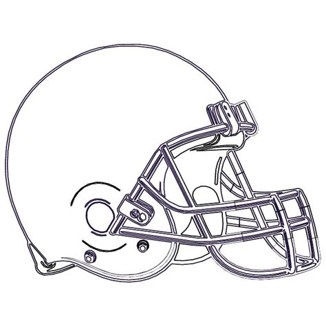 football helmet template nfl helmet illustration at vectorportal