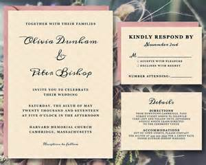 wedding announcement templates sweet etsy invitations bundles and much more