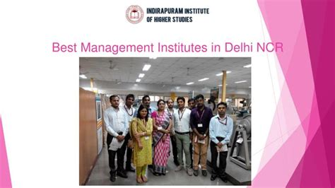 Faculty In Mba Colleges In Delhi Ncr by Ppt Best Management Institutes In Delhi Ncr Powerpoint