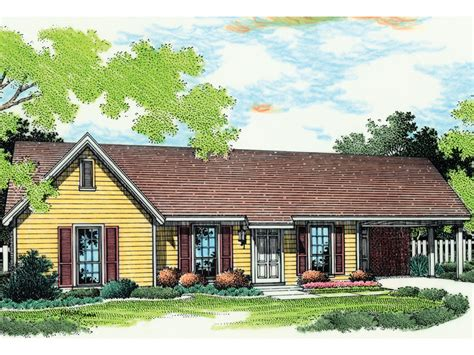house with carport mcallister country home plan 020d 0019 house plans and more