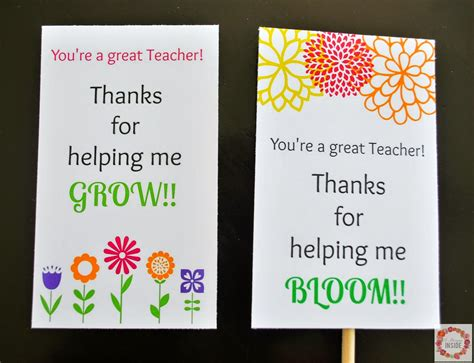 printable teachers day card a glimpse inside teacher appreciation card printables