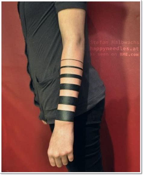 solid black armband tattoo designs 34 solid band tattoos