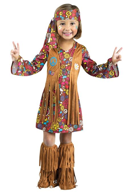 toddler peace hippie costume