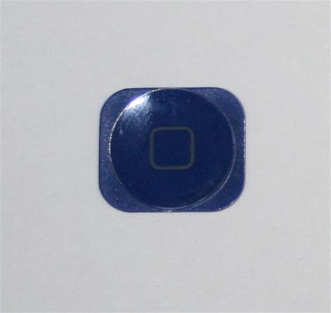 iphone 5 home button blue color