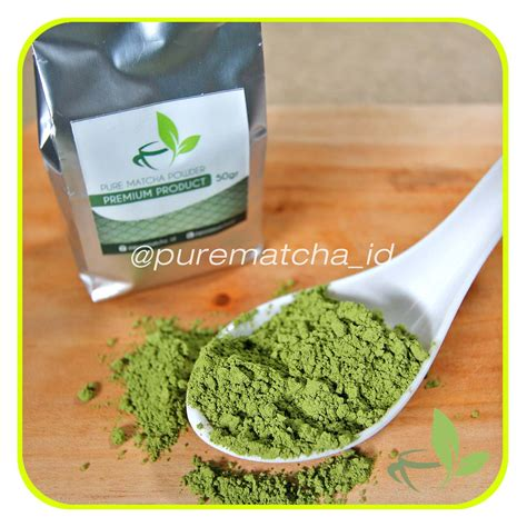 Bubuk Green Tea Powder Bubuk Matcha Green Tea Matcha Green Tea Powder jual matcha greentea bubuk powder green tea murni