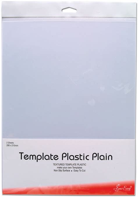 Template Plastic Sheets by Template Plastic Plain 11 X 8 5 Inch 2 Sheets Sew