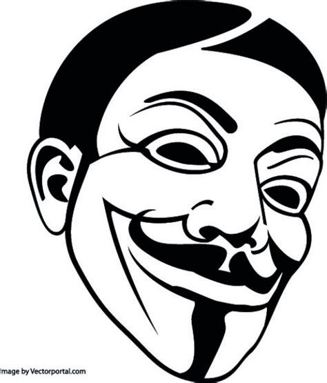 mascara anonima vector gratis