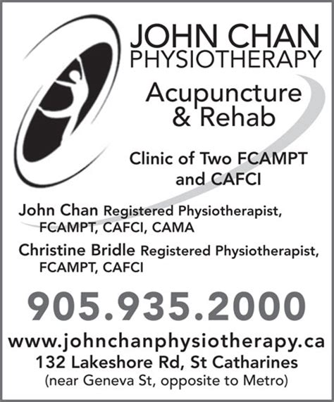 S Detox St Catharines by Chan Physiotherapy Professional Co 132 Lakeshore Rd