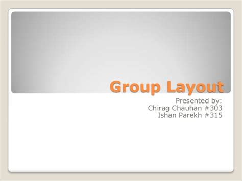 group layout manager group layout manufacturing management