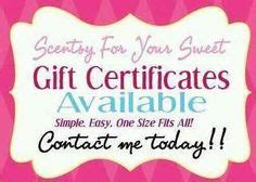 scentsy gift card template 1000 images about scentsy gift certificates on