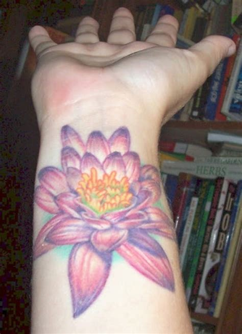 flower tattoos on wrist 79 attractive lotus flower wrist tattoos design