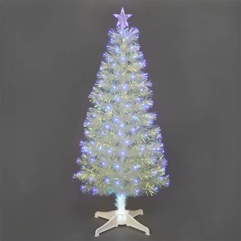 1 8m 6ft white fibre optic christmas tree gift shop