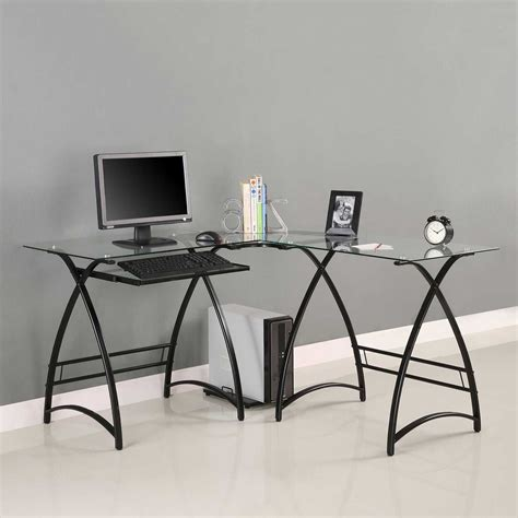 Glass Desk Office Furniture Glass Writing Desk Office Furniture