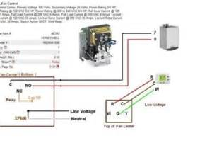 hvac fan relay wiring diagram wedocable
