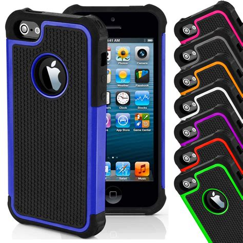 Casing Hp Iphone 4 Iphone 4 S Iphone 5 Iphone 5s Iphone 5c 7 shockproof cover for apple iphone 4s 5s 5c 6