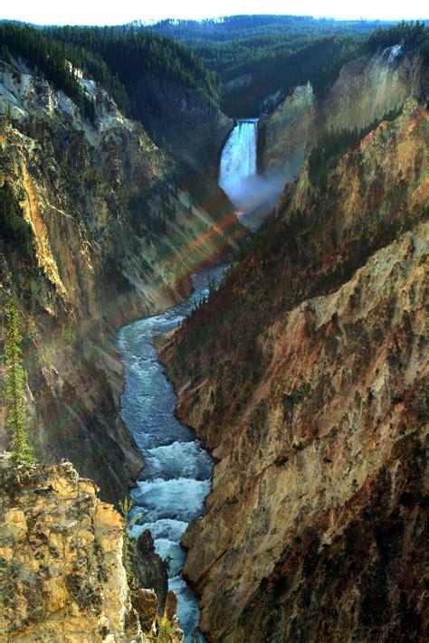 yellowstone lower falls waterfall in yellowstone file yellowstone lower falls jpg wikimedia commons