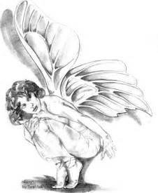 My most favorite pencil sketch to date just a simple fairy for all