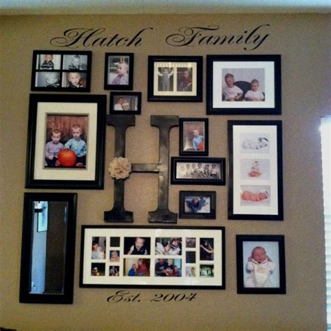 family photo wall our family photo wall home