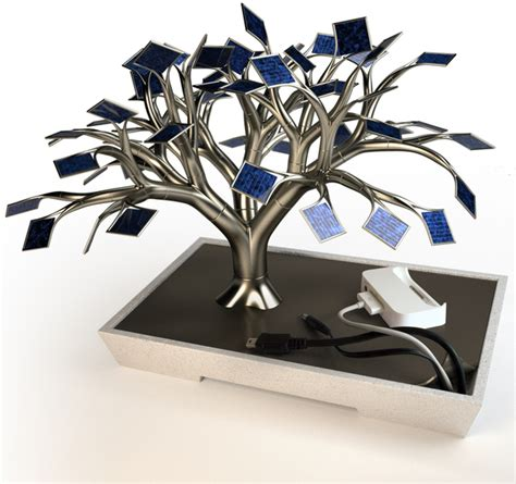 tree solar charger for your iphone ipod touch