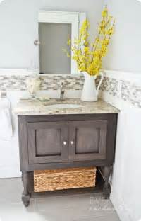 Vanity Inspired Pottery Barn Inspired Bathroom Vanity White