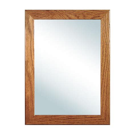 oak bathroom mirror woodfield rectangular oak medicine cabinet bathroom