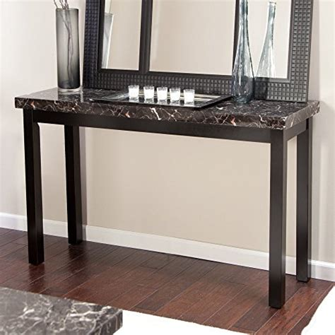 faux marble sofa table galassia faux marble console table buy online in uae