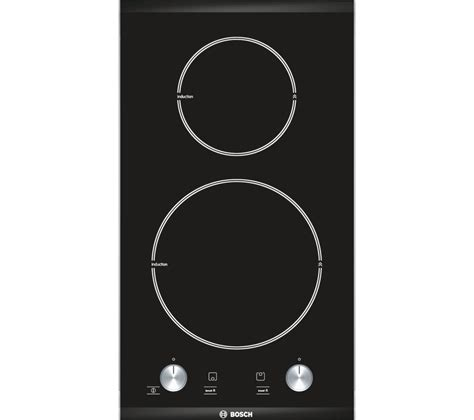 induction hob rating buy bosch logixx pie375c14e induction hob black free delivery currys