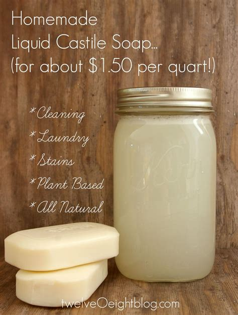 Handmade Liquid Soap Recipes - 1000 ideas about castile soap on castile soap