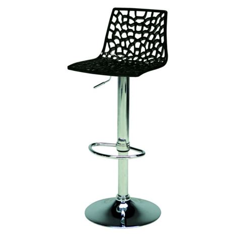 Italian Bar Stools by Spider Modern Black Gloss Italian Bar Stool