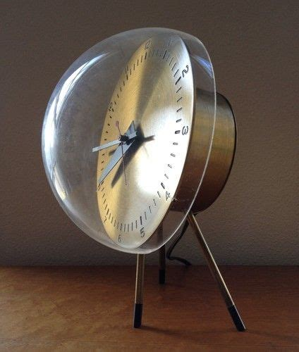 George Nelson Uhr by Original George Nelson Tripod Table Clock