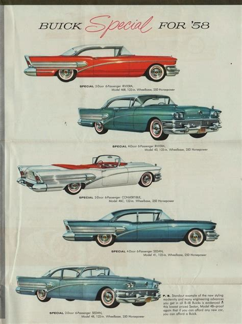 buick brochure detail from 1958 buick brochure vintage car advertising