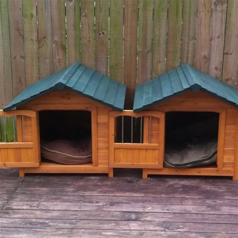 Dog House Duplex For The Puppies Pinterest