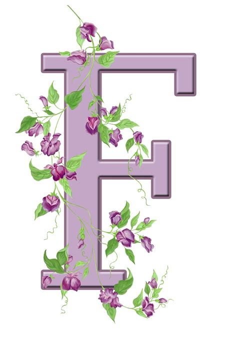 letter f floral initial free stock photo domain