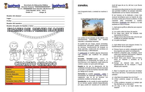 gratis libro de texto la respuesta para descargar ahora examen del cuarto grado del primer bloque del ciclo escolar 2017 2018 con hoja de respuestas
