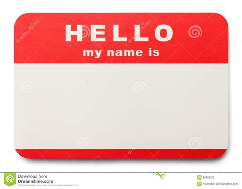 name tag background design name tag stock photography image 36269252