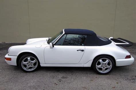 1990 porsche 911 convertible 1990 porsche 911 convertible 194987