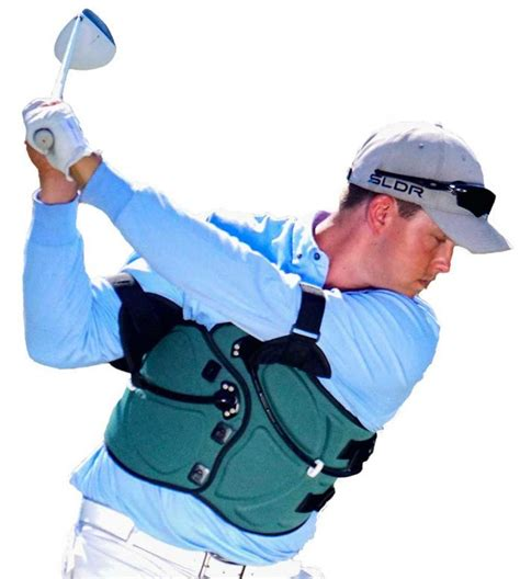 swing jacket golf swing trainer swing jacket an easier way to better golf golfing magazine