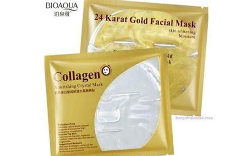 Harga Masker Wajah Oriflame harga masker emas collagen terbaru februari 2019
