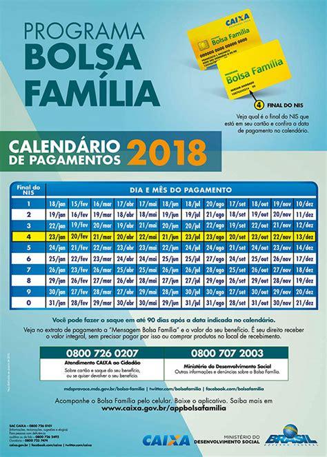 95 calendario do bolsa familia de 2017 calend 193 rio bolsa fam 205 lia 2018 consulte aqui